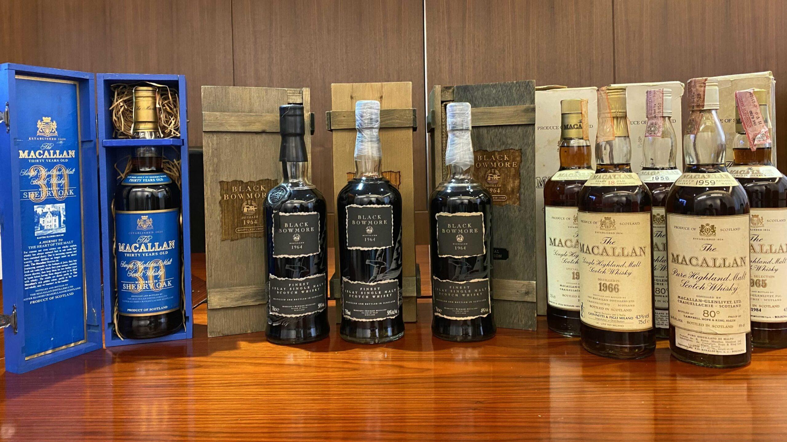 Hong Kong 'rare whiskey brokerage' targets Singapore wealth